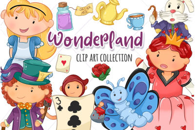 Wonderland Clip Art Collection