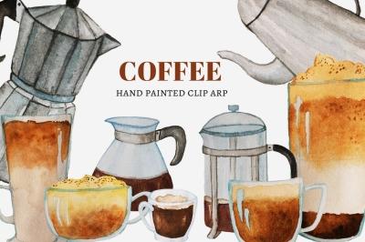 Coffee Clip Art Set