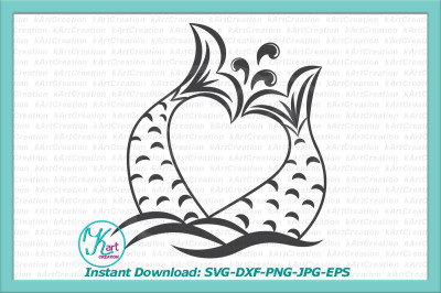 valentine mermaid svg, mermaid tail svg, mermaid valentine svg, girls