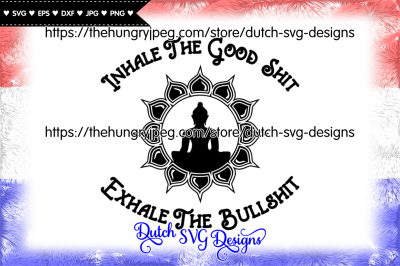 Text cutting file with buddha in lotus, cricut svg, silhouette file