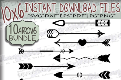 Bundle Arrows elements Svg - Bundle svg digital - Arrows SVG - Arrows