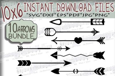 Bundle Arrows elements Svg - Bundle svg digital - Arrows SVG - Arrows