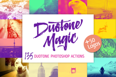 Duotone Magic - Duotone Photoshop Actions