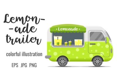 Lemonade street food caravan trailer