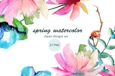 Spring watercolor