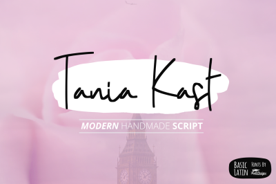 Tania Kast Modern Script