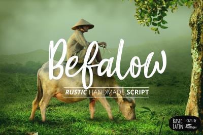 Befalow Rustic Font
