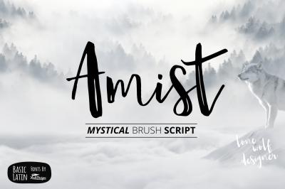 Amist Mystical Script Fonts