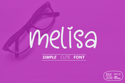 Melisa Fun Font