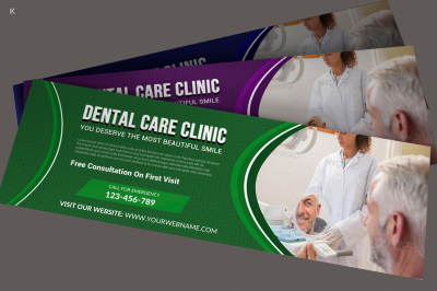 Dental Care Website Banner Template
