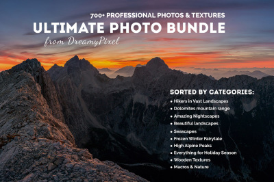 Ultimate Photo Bundle 2016 – 700+ Stock Photos