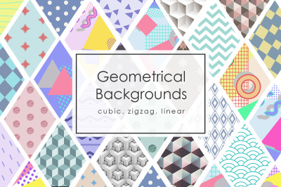 42 Geometric Backgrounds