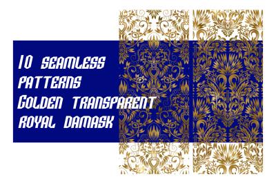 10 royal damask patterns