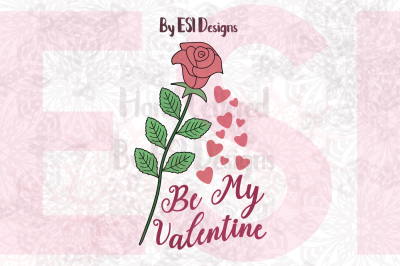 Be My Valentine Rose Design