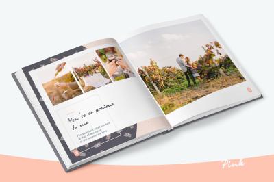 Pink - Photo Album Template