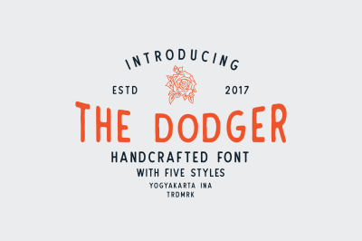The Dodger Typeface (11 Fonts) + EXTRAS