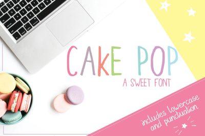 Cake Pop Font