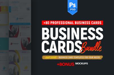 +80 Business Card Bundle