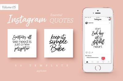 50 Instagram Essential Quotes Vol. 5