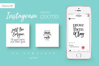 50 Instagram Essential Quotes Vol. 6