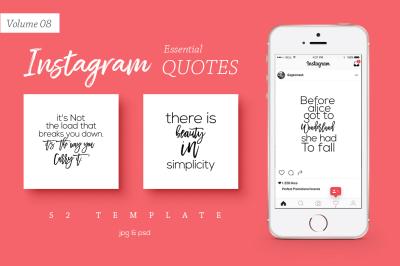 50 Instagram Essential Quotes Vol. 8