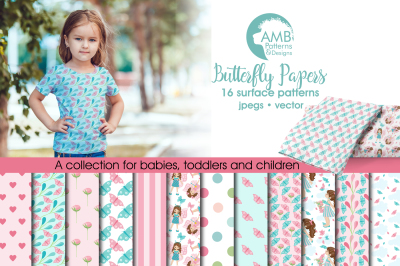 Butterfly Papers, patterns AMB-1083