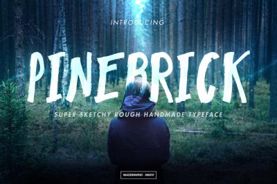 Pinebrick Typeface