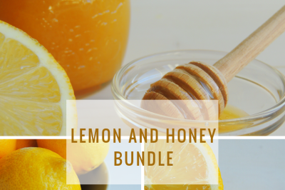 Honey and lemon bundle.