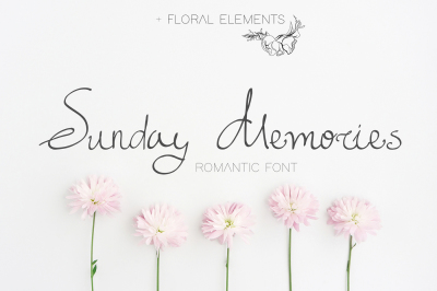 Sunday Memories - Romantic Font