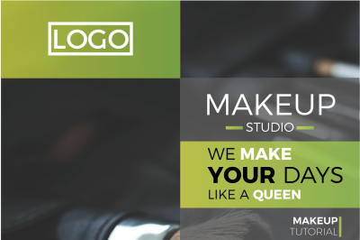 Makeup Studio Flyer