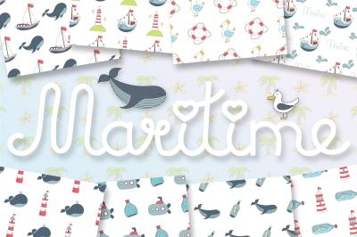 Maritime (elements, patterns)