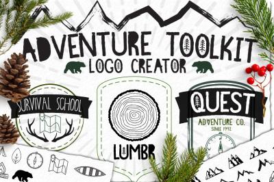 Rustic Logo Tool Kit: Outdoor Edition
