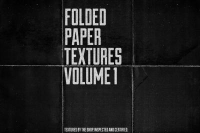 Folded paper textures volume 01