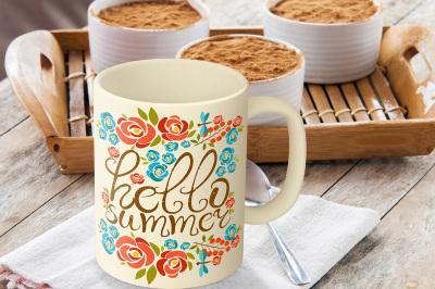 Mug Mockup, Breakfast