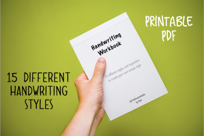 HANDWRITING - Printable Workbook