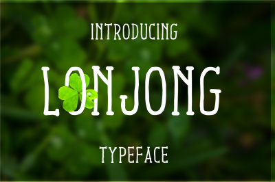 Lonjong Font