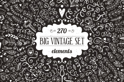 270 elements - Big Vintage Bundle