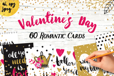 60 Valentine's Day Romantic Cards