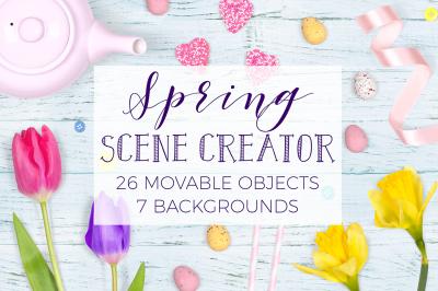 Spring Scene Creator - Top View