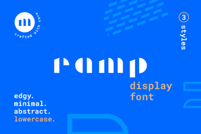 Ramp Display Font
