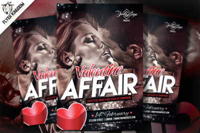 Valentine Affair Flyer