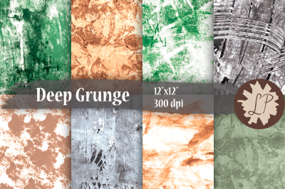 Grungy Painted Papers/Textures