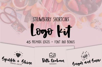Strawberry Shortcake LOGO KIT + Bonus