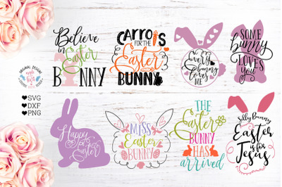 Easter Cut File Bundle (SVG, DXF, PNG)