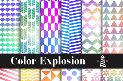 Color Explosion Patterns