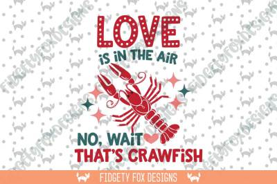 Valentine Crawfish SVG DXF, EPS, Files for Cutting Machines Cameo