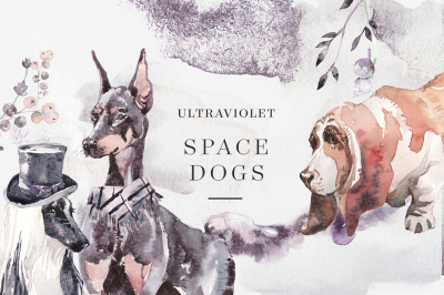 Ultraviolet Space Dogs