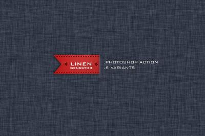 Linen Background Generator