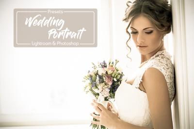 15 Wedding Portrait Lightroom Presets & Photoshop Filters ACR