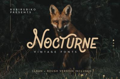 Nocturne - Vintage Fonts
